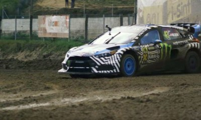 Ken Block gives the Ford Focus RS RX a Shakedown