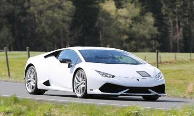 Lamborghini Huracan Superleggera prototype-1