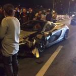 McLaren P1 crashed in China-4