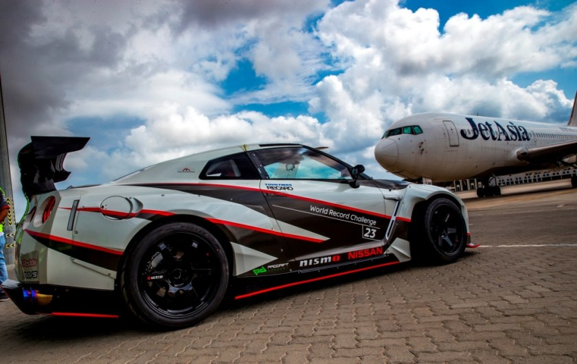 Nissan GT-R World Record for Fastest Drift-3