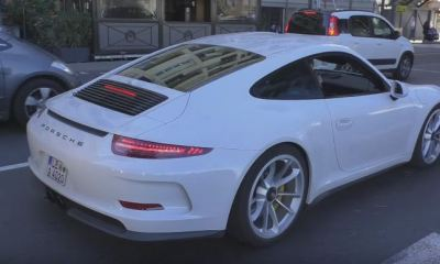 Porsche 911 R spotted in Monaco