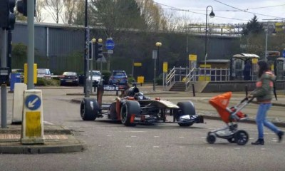 Team Betsafe F1 car for Gumball 3000