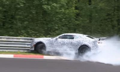 2016 Camaro Z28 crashed at Nurburgring