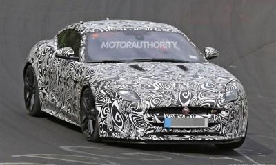 2018 Jaguar F-Type prototype image-4