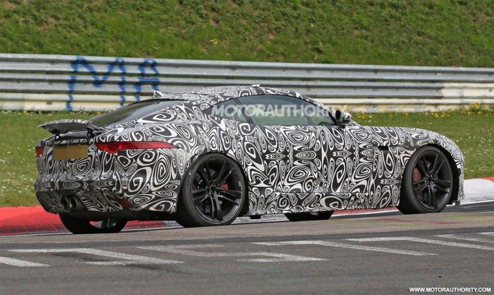 2018 Jaguar F-Type prototype image-5