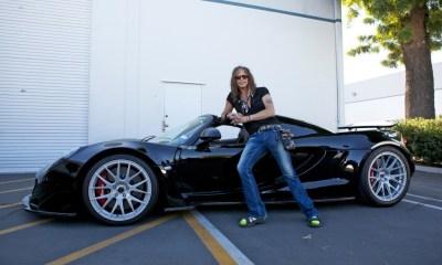 Aerosmith's Steven Tyler selling his Hennessey Venom GT