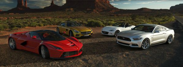 Gran Turismo Sport on PS4- New Cars