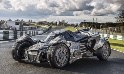 Gumball 3000- Team Galag Batmobile 2.0