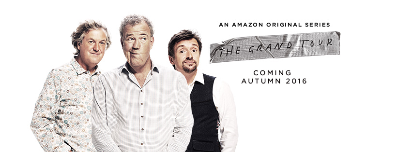 The Grand Tour Clarkson, Hammond, May TV show Amazon Prime