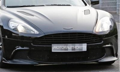 2018 Aston Martin Vanquish S prototype spy shots-1