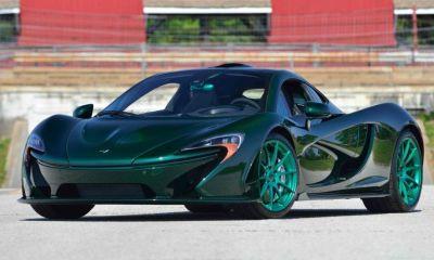 Green McLaren P1 heads to Monterey Auction-1