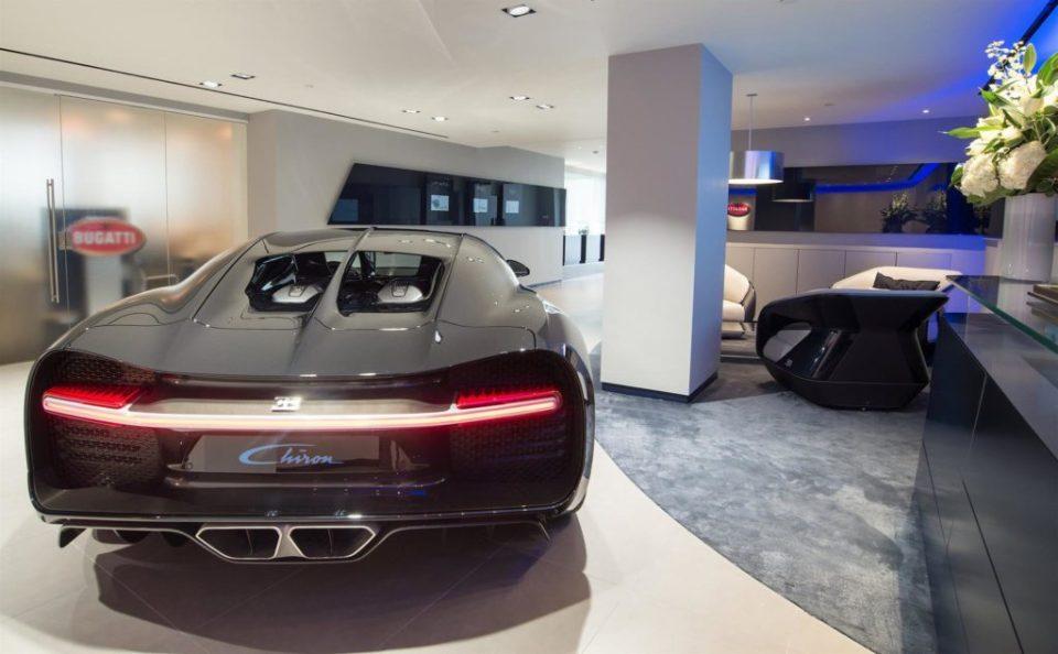 HR Owen's Bugatti Showroom in London-2