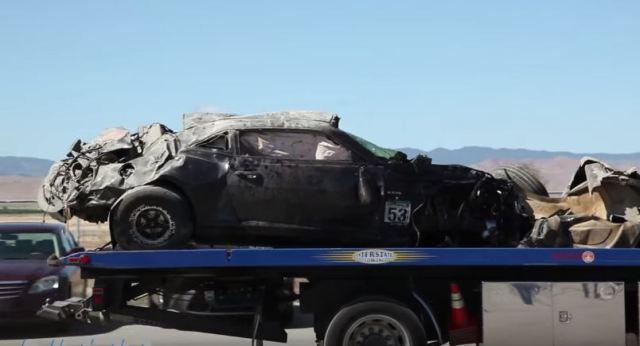 Twin Turbo Camaro crashes at Shift S3ctor