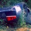 Lamborghini Murcielago crashed with kids on board-1