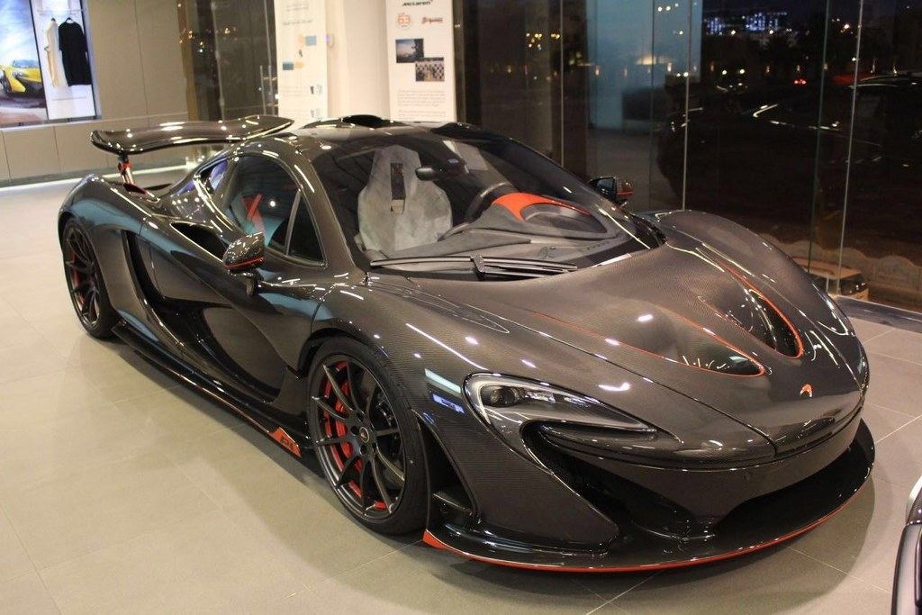 Ultra-rare McLaren P1 Carbon Series For Sale in Dubai