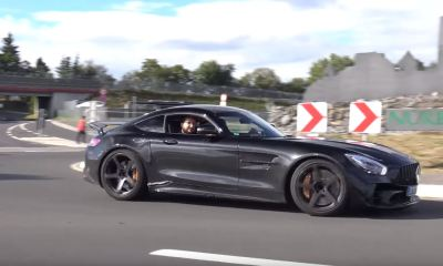 Mercedes-AMG GT R spy shot-6
