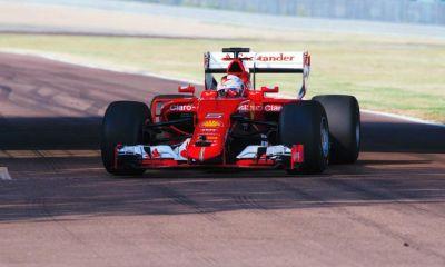 Sebastian Vettel test 2017 Pirelli F1 tires-2
