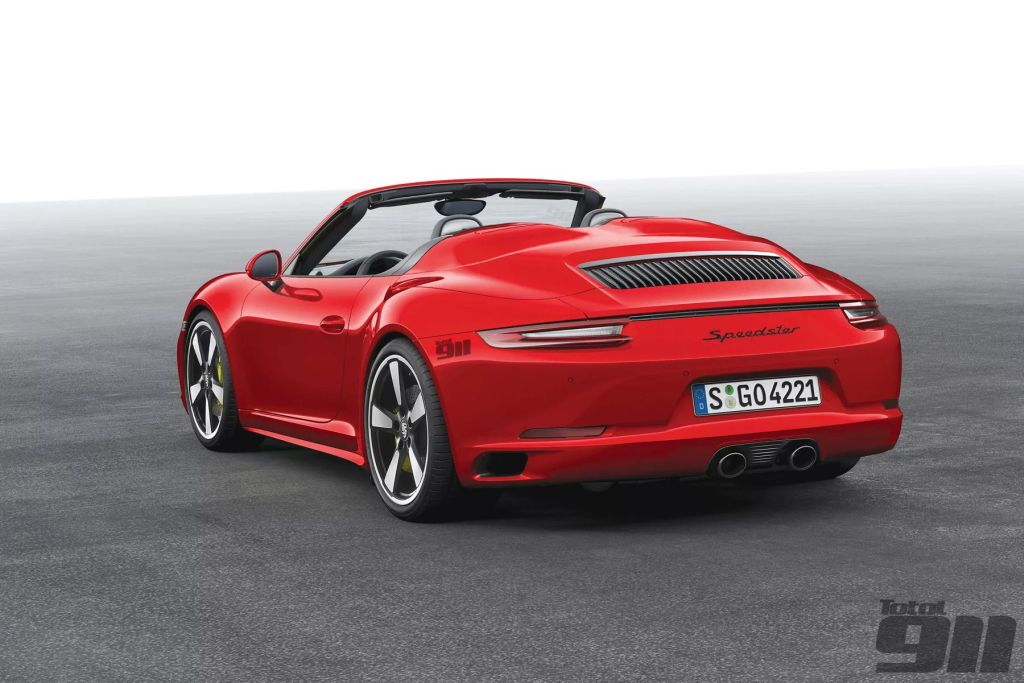 Porsche Sport Classic, 911 Speedster Coming in 2017?