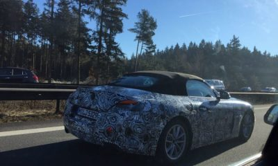 2018 BMW Z5 Prototype- Z4 Roadster spy shots-1