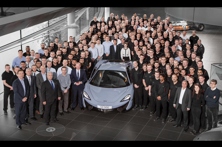 Ceramic Grey McLaren 570S by MSO- 10000th production milestone-1