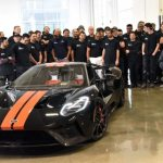 First 2017 Ford GT rolls off assembly line-1