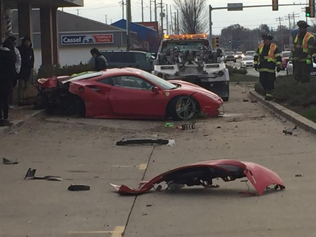 Teenager crashes Ferrari 488 GTB into Barbershop-2