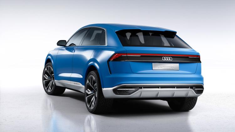 2017 Audi Q8 SUV Concept-2017 Detroit Motor Show-4