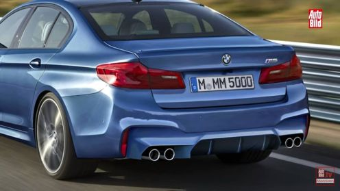 2017 BMW M5 leaked ahead of launch-4