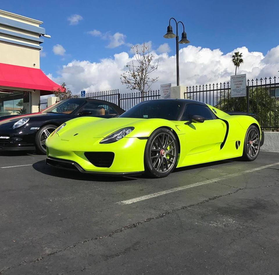 Salomondrin's Porsche 918 Spyder For Sale at Evan Paul Motorcars