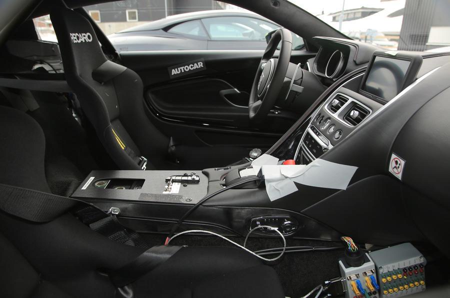 2018 Aston Martin Vantage Spy Shots-3