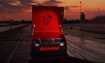 Dodge Challenger Demon Crate teaser-4