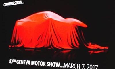TAMO Futuro sports car concept-2017 Geneva Motor Show