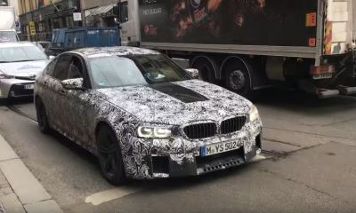 2018 BMW M5 test mule spotted in Oslo