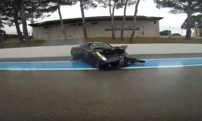 Ferrari 458 Speciale Crash-Paul Ricard