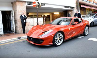 Ferrari 812 Superfast spotted in Monaco