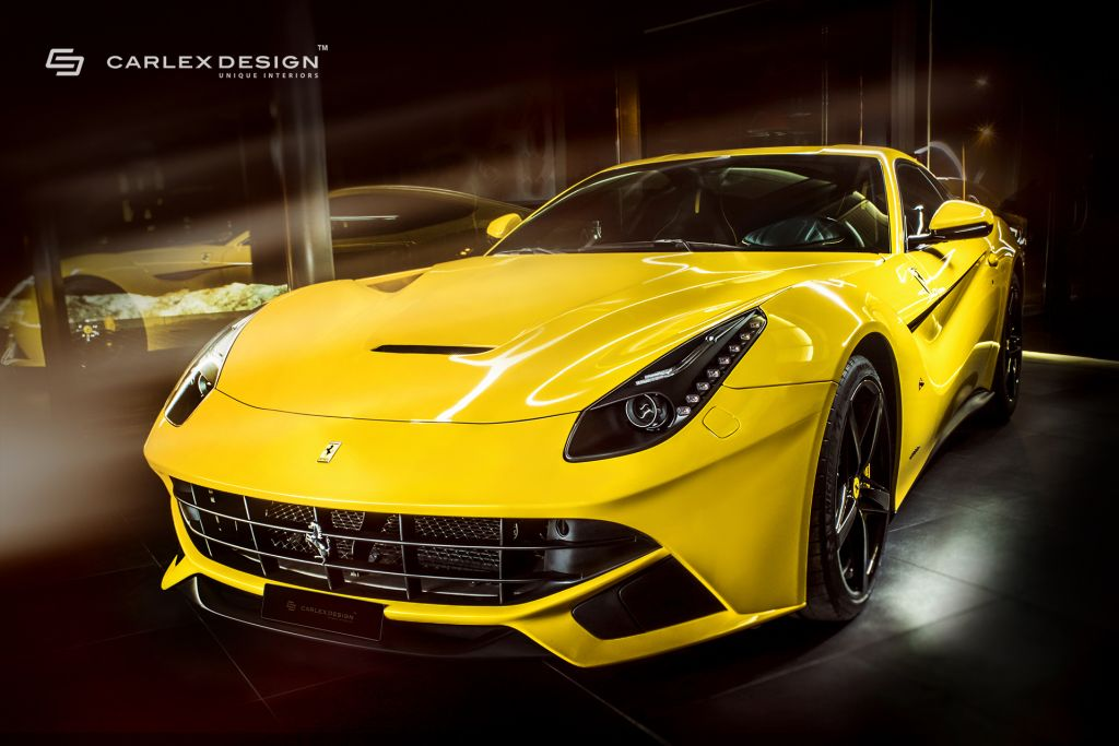 Ferrari F12 Berlinetta Interior Upgrade by Carlex Design