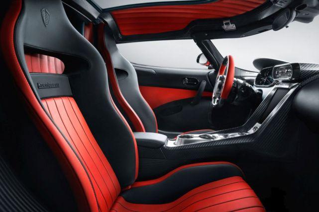 Koenigsegg Regera-Candy Apple Red-2017 Geneva Motor Show-2