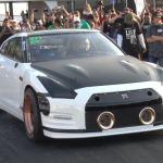 Nissan GT-R Alpha G by AMS Performance-TX2K17-Quarter mile World Record