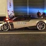 Pagani Huayra BC Crash Rome