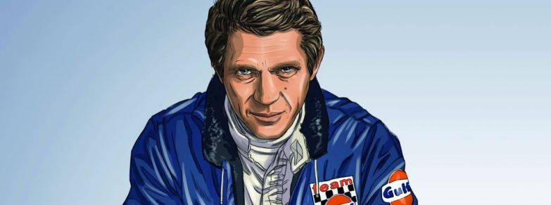 Steve McQueen-Le Mans-Graphic Novel by Sandro Garbo-5
