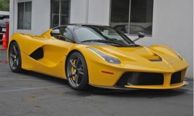 Yellow LaFerarri for sale in the US-Giallo Modena-5