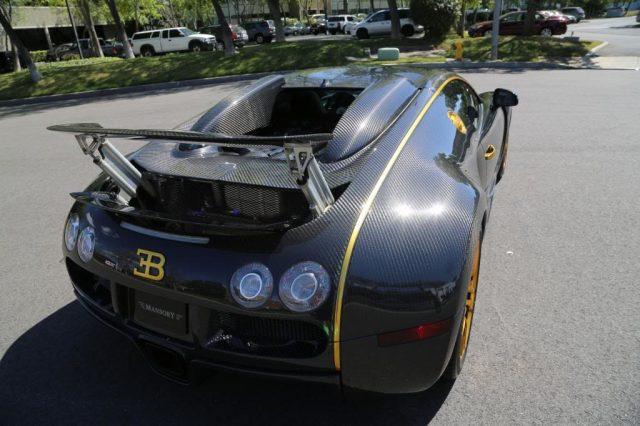 Bugatti Veyron Mansory Linea Vincero d'Oro-2