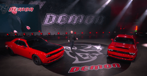 Dodge Challenger SRT Demon-2017 New York Auto Show-9