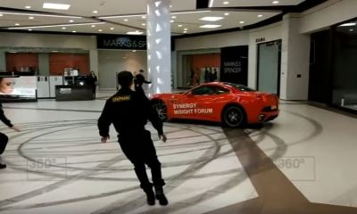 Ex-Mayor Ferrari Moscow Shopping Mall-Drift