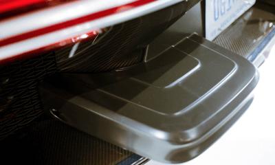 US-Spec Bugatti Chiron bumper extensions