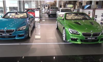 worlds biggest BMW dealership-Abu Dhabi Motors showroom