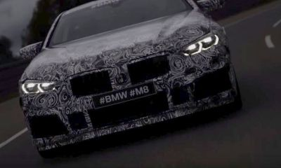 BMW M8 Teaser-M Festival 2017