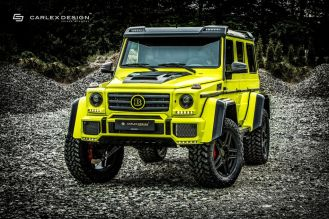 Mercedes-Benz Brabus G500 4x4² by Carlex Design-23