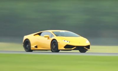 Twin-turbo Lamborghini Huracan-UGR-Half Mile World Record