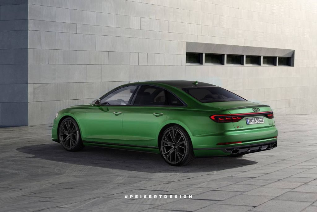 2020 audi rs8 rendered